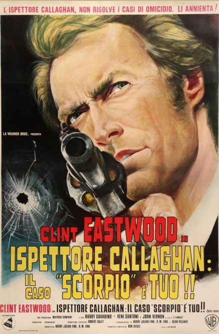 Dirty Harry Italian poster