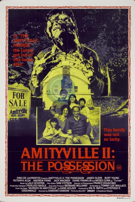 Amityville 2 The Possession alternate poster