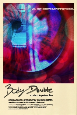 Body Double alternate poster