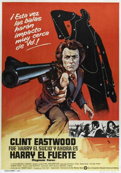 Magnum Force Spanish poster