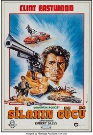 Magnum Force Turkish poster