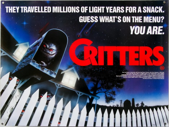 Critters quad poster