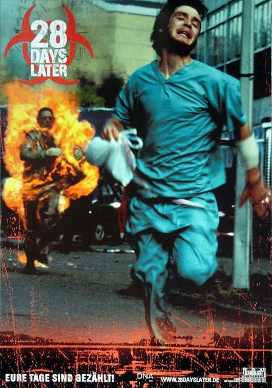 28 Days Later German poster