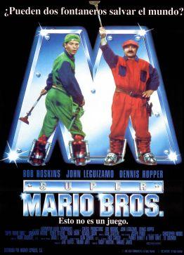 Super Mario Bros The Movie Spanish poster