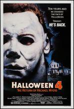 Halloween 4 poster