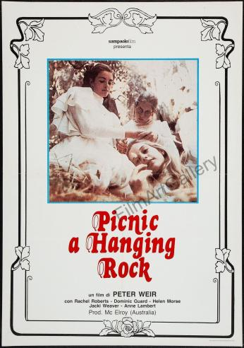 Picnic at Hanging Rock Italian poster