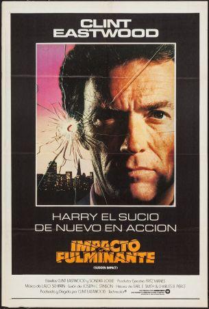 Sudden Impact Spanish poster
