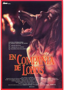 The Company of Wolves Spanish poster