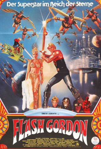 Flash Gordon German poster