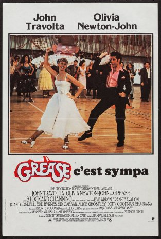 Grease French poster